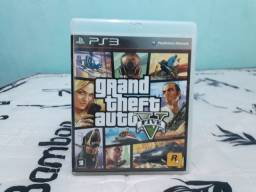 Jogo Mídia Física PS3 GTA V