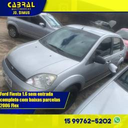 Fiesta Sedan 1.6 Completo c/ baixas parcelas barato abaixo da fipe