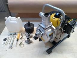 Motobomba a gasolina 2 tempos 1HP (Seminovo de Loja)
