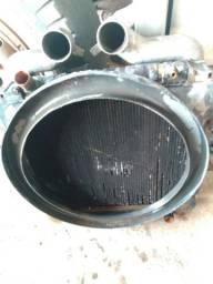 Radiador com intercule do Mercedes  1620