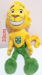 Mascote Ginga Brasil Olimpíadas Rio 2016