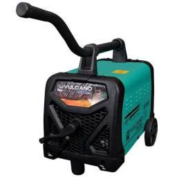 Máquina de solda, Transformador 250 Amp Com Rodas 110/220V (Novo de Loja)