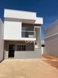 Sobrado com 2 dormitórios à venda, 71 m² por R$ 220.000,00 - Residencial Tuzimoto - Goiâni