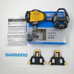 Pedais Shimano 105 carbon