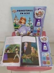 Livro projetor princesinha sofia