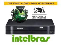 Dvr Stand Alone Mhdx Intelbras 8 Canais 1008 Tríbrido 5 Em 1