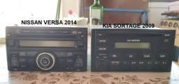 Rádio Original Nissan Versa e Kia Sportage