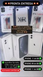 IPhone XR e iPhone 11 64 gb! Lacrados é garantia de 01 ano Apple