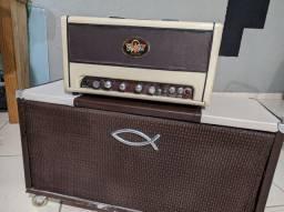 Amp Hand Made 150w Pré valvulado