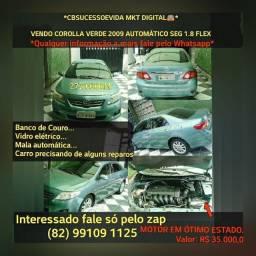 COROLLA 2009 COMPLETO FLEX