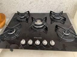 Cooktop eletrolux 5 bocas tripla chama