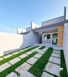 Casa c/Arquitetura linda, sala 2 ambientes e 2 quartos, Aprox.88m²
