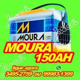 Baterias promocionais é na JUCA / Moura