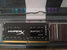 Memória DDR4 Notebook 8GB
