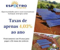 Financiamento Energia solar 4.03% ano
