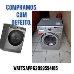 Compra e venda de maquina de lavar e lava e seca