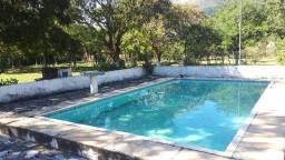 Sitio 10,000m2 em Sambaetiba Casa 4 Quartos, Piscina e Churrasqueira