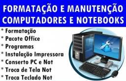 Formatação Completa Com Bakup Pc e Notebook 60$ + Programas Pacote Office Antis Virus