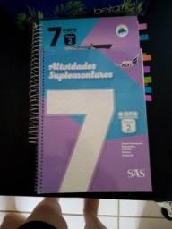 Vendo livros 7°ano  SAS do cmpm usados por 3 meses