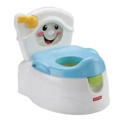 Troninho Toilette Fisher Price, Mattel, Branco