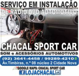 Título do anúncio: Serviço de instalação de rádio automotivo caixa de som