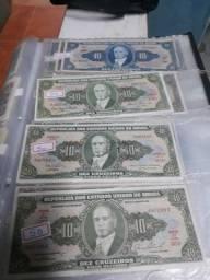 Vendo dinheiro antigo.