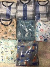 Líquidação pijamas infantis masculinos - Vem ver!