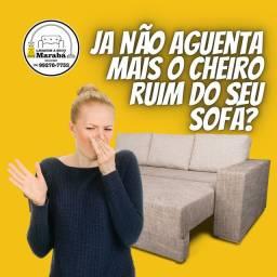 Lavagem a seco de sofá em Marabá