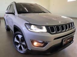 Jeep Compass Longitude 2.0 Flex Aut Ano 2018 - Ipva Pago - Único Dono