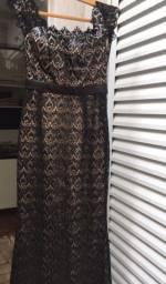 Título do anúncio: Vestido longo /forrado /tecido de alta Qualidade