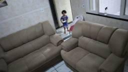 Vendo sofá semi novo tem conversa