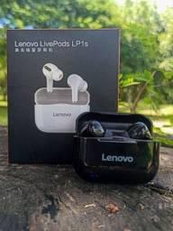 Fone bluetooth Lenovo LP1S tws (LivePods)-siri-redução de ruído-9.0