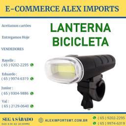 Lanterna Frontal para Bicicletas com Led Brasfort Bicicreta