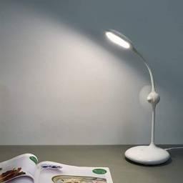 Luminária De Mesa Led C/ Ventilador - Inova Lan- 8507