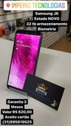 Vendo Samsung j6 com garantia Somos LOJA  FÍSICA