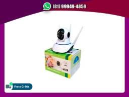 Câmera IP Wireless Com Visão Noturna
