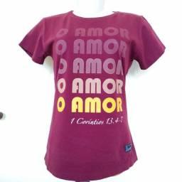 Camisa Evangélica Cristã Adulto e Infantil