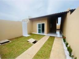 JP casa nova com 89m² com 2 quartos 2 banheiros a 15 minutos de messejana
