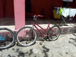Título do anúncio: Duas bicicletas aro 26 / 24 leia toda a descrição