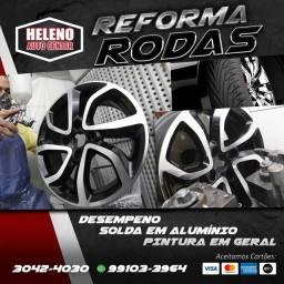 Reforma de Rodas em Geral a partir de R$190,00.
