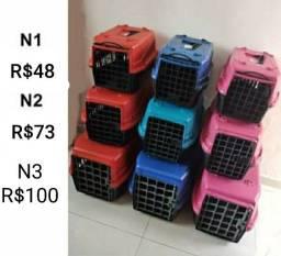 Caixa de transporte cão gato - Temos a melhor taxa de entrega da cidade!