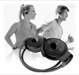 Fone de ouvido esportivo Bluetooth/Cartao Sd