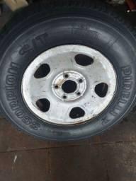 Estepe da blazer pneu razoável