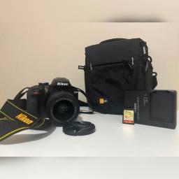 Câmera Dslr Nikon D3400 - Em perfeito estado!