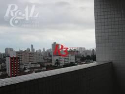 Sala para alugar, 44 m² - Marapé - Santos/SP