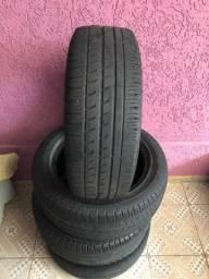 Jogo de Pneu 195/55-15 Pirelli P7 meia vida