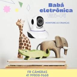 Babá Eletrônica monitore os idosos, crianças e pets