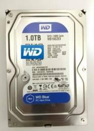 Hd Disco Rígido Interno Western Digital Wd10ezex 1tb Azul