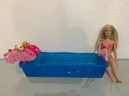 Barbie corrida de cachorrinhos