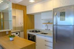 Lindo apartamento mobiliado na Praia Grande em Torres/RS - 2 Dormitórios (1 suíte)